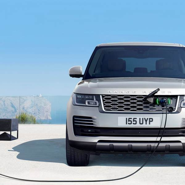 Land Rover Plug in Hybrid