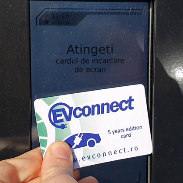 Cardul EVConnect